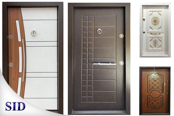 آشنایی با انواع درب ضد سرقت و درب داخلی ساختمان